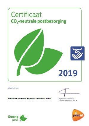 certificaat groene post